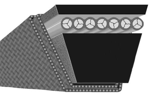 Optibelt B33 B Section V-Belt