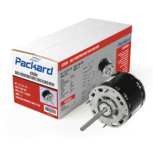 Packard 45471 Direct Drive Blower Motor