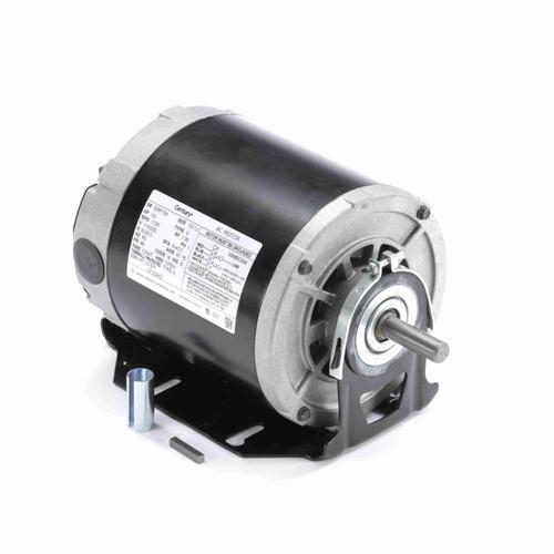 Century GF2034D 1/3 HP 1800 RPM 115/230 Volts General Purpose Motor