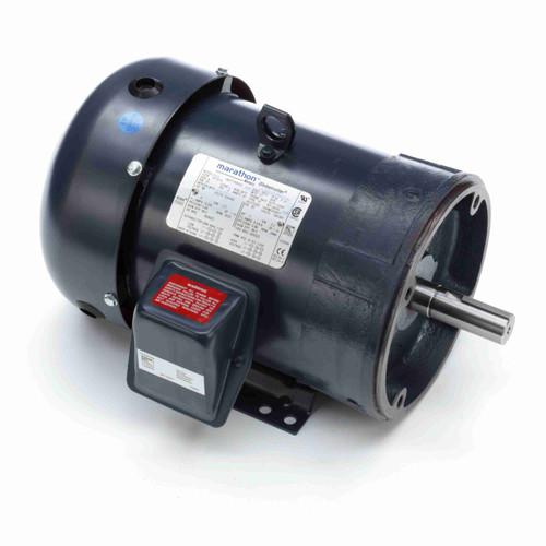 Marathon GT1212A 5 HP 3600 RPM 230/460 Volts General Purpose Motor