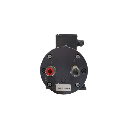 Baier & Koppel 80.01S15-A208 0.82/0.55 KW 1670/1350 RPM Oil Pump Motor for a Manroland