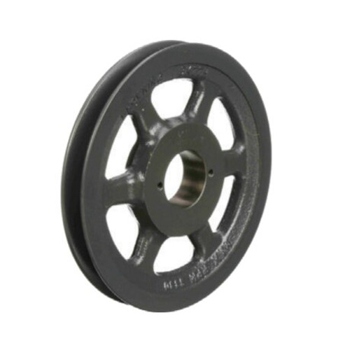 """Packard PBK80H 7.75"""" OD H-Bushing Bore Single Groove Pulley"""