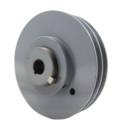 """Packard P2VP60138 6"""" OD 1-3/8"""" Bore Variable Pitch Two Groove Pulley"""
