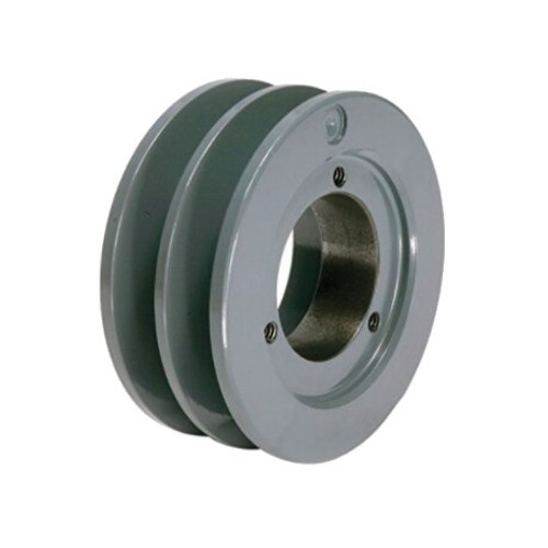"""Packard P2BK80H 7.75"""" OD H-Bushing Bore Two Groove Pulley"""