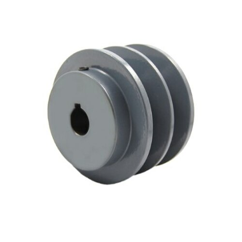 """Packard P2BK4058 3.95"""" OD 5/8"""" Bore Two Groove Pulley"""