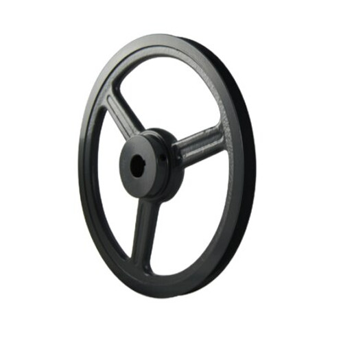 """Packard PAL741 6.93"""" OD 1"""" Bore Single Groove Pulley"""