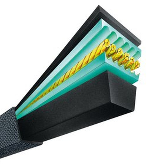 Optibelt B49HVAC B Section 52'' HVAC Power V-Belt