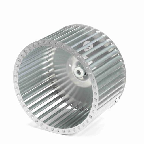 """Fasco 1-6028 9-31/32"""" Diameter 6"""" Width 1/2"""" Bore CCW Single Inlet Blower Wheel"""