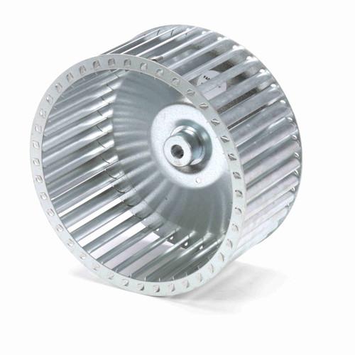 """Fasco 1-6078 9-1/8"""" Diameter 4-1/4"""" Width 1/2"""" Bore CCW Single Inlet Blower Wheel"""
