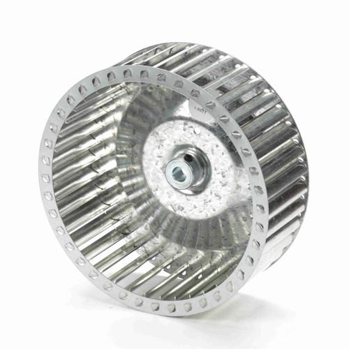 """Fasco 1-6077 8-35/64"""" Diameter 3"""" Width 1/2"""" Bore CCW Single Inlet Blower Wheel"""