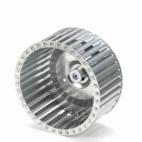 """Fasco 1-6071 7-31/64"""" Diameter 3-1/2"""" Width 1/2"""" Bore CCW Single Inlet Blower Wheel"""