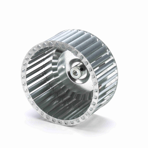 """Fasco 1-6070 7-31/64"""" Diameter 37316"""" Width 1/2"""" Bore CW Single Inlet Blower Wheel"""