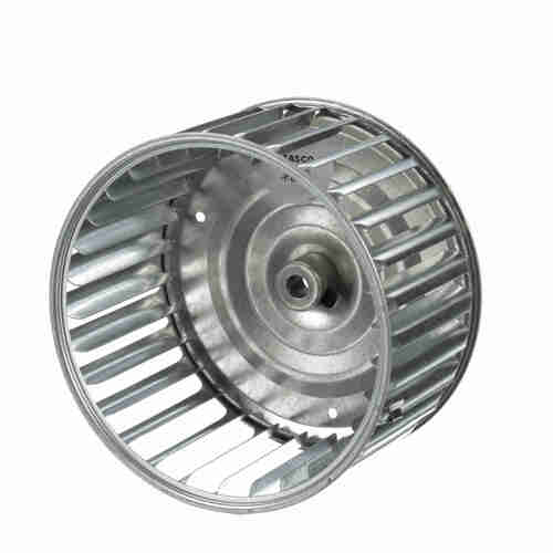 """Fasco 1-6054 5-13/64"""" Diameter 2-29/32"""" Width 5/16"""" Bore CCW Single Inlet Blower Wheel"""