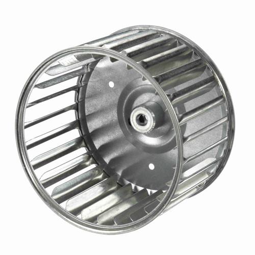 """Fasco 1-6048 4-23/32"""" Diameter 2-15/16"""" Width 5/16"""" Bore CW Single Inlet Blower Wheel"""