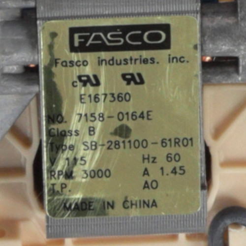 Fasco A262 3000 RPM 115 Volts OEM Replacement Draft Inducer Blower