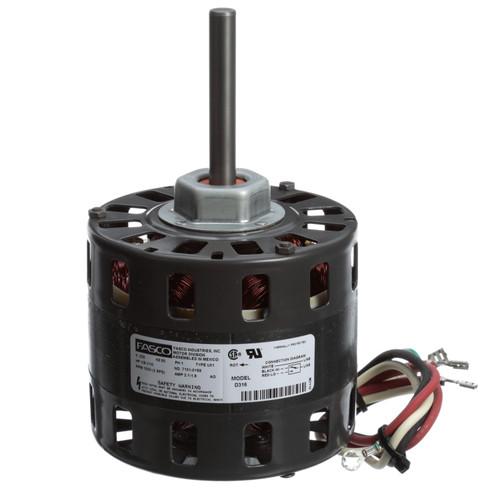 Fasco D316 1/8 HP 1050 RPM 230 Volts Direct Drive Blower Motor