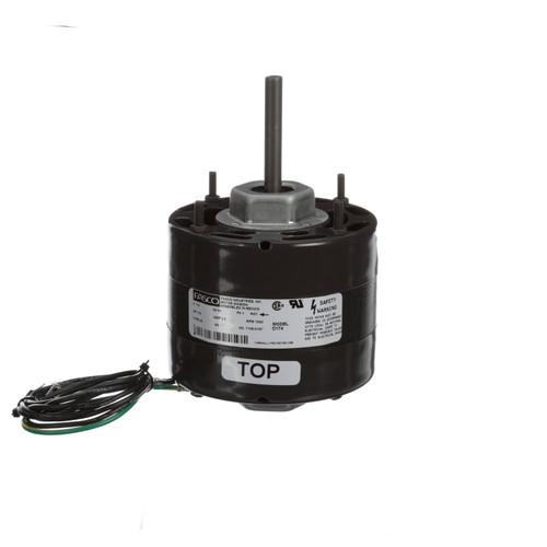 Fasco D174 1/10 HP 1500 RPM 115 Volts General Purpose Fan Motor