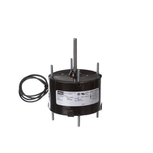 Fasco D122 1/80 HP 1500 RPM 115 Volts General Purpose Fan Motor