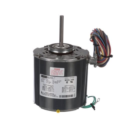 Fasco D489 1/15 HP 1550 RPM 115/208-230 Volts Condenser Fan Motor