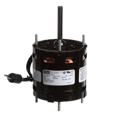 Fasco D1154 1/20 HP 1550 RPM 230 Volts Refrigeration Fan Motor