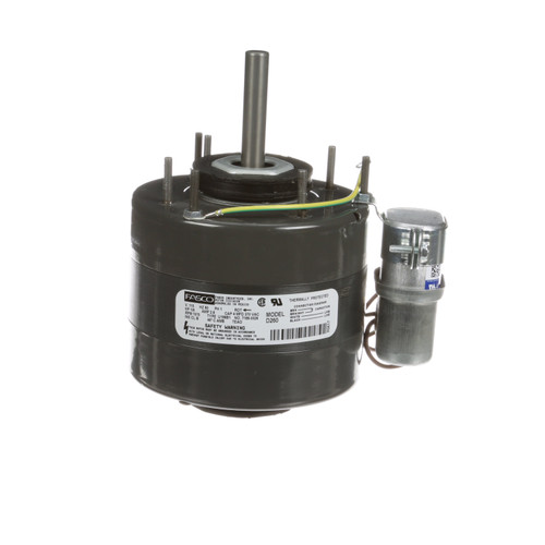 Fasco D260 1/6 HP 1075 RPM 115 Volts Unit Heater Motor