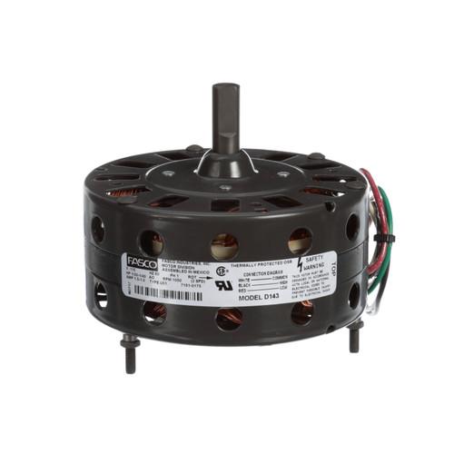 Fasco D143 1/30 HP 1050 RPM 115 Volts Unit Heater Motor