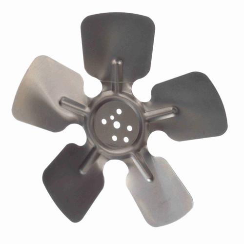 "Fasco 5FR823 8"" Diameter 23 Pitch (degree) CW 5 Blade Fan Blade"