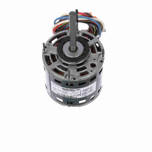 Genteq 2824 1/8 HP 1075 RPM 115 Volts Direct Drive Blower Motor