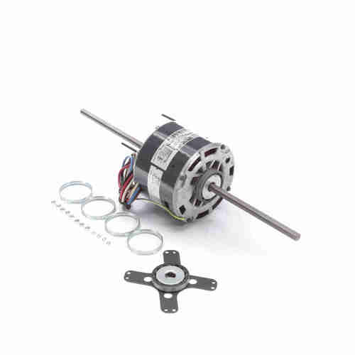 Genteq 3871 1/4 HP 1625 RPM 115 Volts Direct Drive Blower Motor