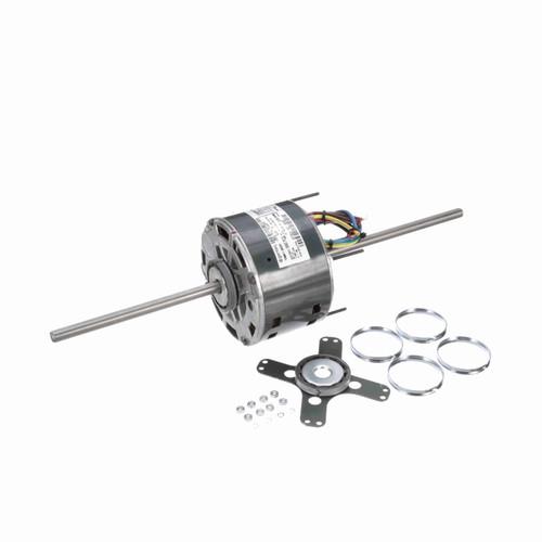 Genteq 3652 1/6 HP 1075 RPM 208-230 Volts Direct Drive Blower Motor