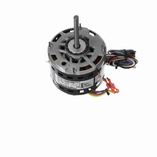 Genteq 3583 1/4 HP 1075 RPM 115 Volts Direct Drive Blower Motor