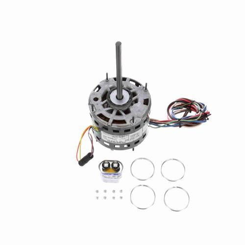 Genteq 3983 1/4 HP 1075 RPM 115 Volts Direct Drive Blower Motor