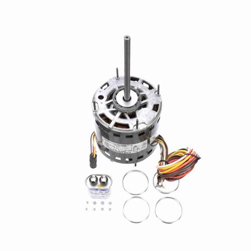 Genteq 3D004 1/2 HP 1075 RPM 277/230 Volts Direct Drive Blower Motor