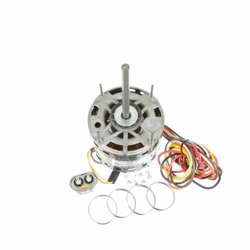 Genteq 3D002 1/4 HP 1075 RPM 277/230 Volts Direct Drive Blower Motor