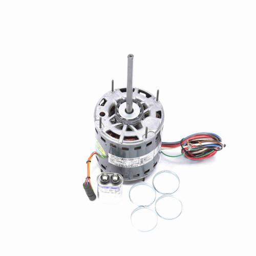 Genteq 3D008 3/4 HP 1075 RPM 460 Volts Direct Drive Blower Motor
