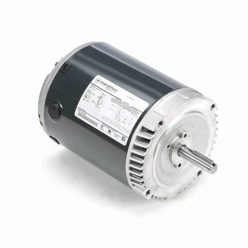 Marathon H225 1/3 HP 1725/1140 RPM 115 Volts Exhaust Ventilator Motor