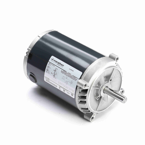 Marathon H209 1/6 HP 1140 RPM 115 Volts Exhaust Ventilator Motor