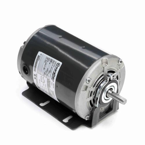 Marathon D163 1/2 HP 1725 RPM 230 Volts Belt Drive Fan and Blower Motor