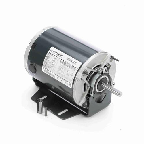 Marathon 4684 1/2 HP 1725 RPM 115/230 Volts Belt Drive Fan and Blower Motor