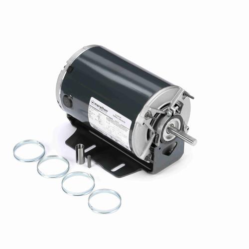 Marathon HG715 1/2 HP 1725/1140 RPM 115 Volts Belt Drive Fan and Blower Motor