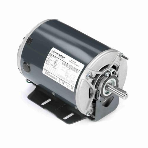 Marathon H176 1/2 HP 1725/1140 RPM 115 Volts Belt Drive Fan and Blower Motor