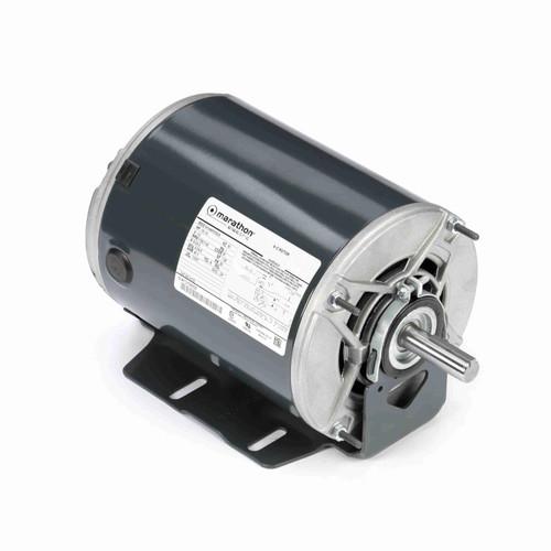 Marathon H175 1/2 HP 1725/1140 RPM 115 Volts Belt Drive Fan and Blower Motor