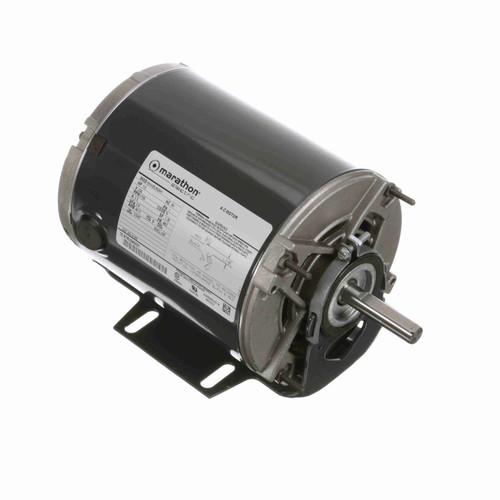 Marathon H166 1/3 HP 1725 RPM 230 Volts Belt Drive Fan and Blower Motor