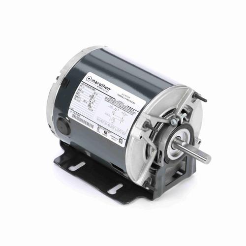Marathon H165 1/3 HP 1725 RPM 115 Volts Belt Drive Fan and Blower Motor
