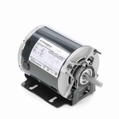 Marathon H164 1/3 HP 1725 RPM 115 Volts Belt Drive Fan and Blower Motor
