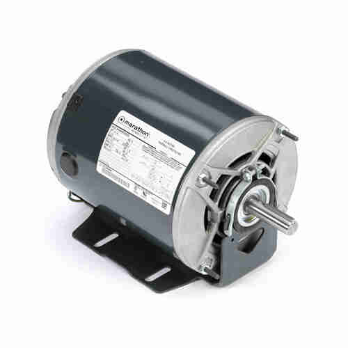 Marathon H174 1/3 HP 1725/1140 RPM 115 Volts Belt Drive Fan and Blower Motor