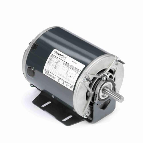 Marathon H173 1/3 HP 1725/1140 RPM 115 Volts Belt Drive Fan and Blower Motor