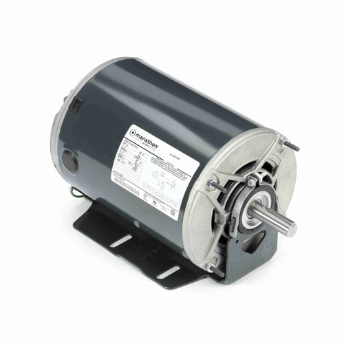 Marathon H296 1/4 HP 850 RPM 115 Volts Belt Drive Fan and Blower Motor
