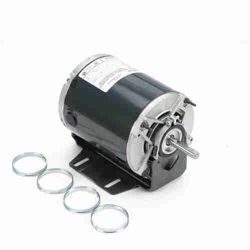 Marathon HG704 1/4 HP 1725/1140 RPM 115 Volts Belt Drive Fan and Blower Motor