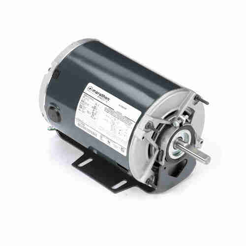 Marathon H171 1/4 HP 1725/1140 RPM 115 Volts Belt Drive Fan and Blower Motor